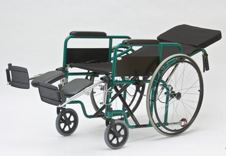 Инвалидное кресло с подножками с ортопедическими упорами