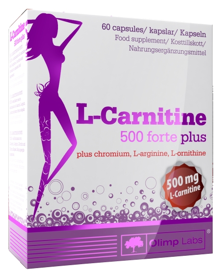 OLIMP Labs L-Carnitine 500 forte plus 60 капсул.jpg
